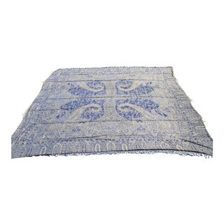 Indian Silk Throw