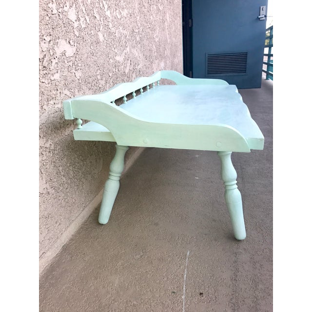 Shabby Chic Painted Farmhouse Style Coffee Table - Image 5 of 10