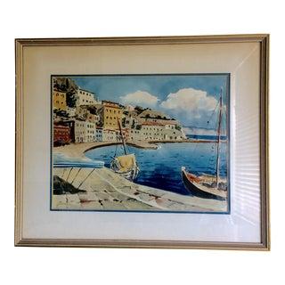 Capri Watercolor