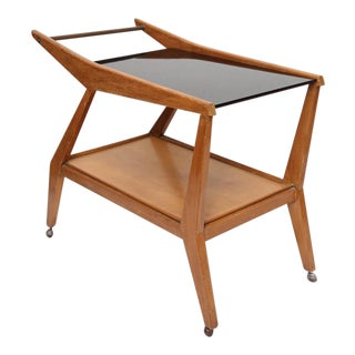 Tilly Stickell Mid-Century Modern Bar Cart