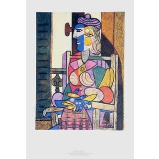 """Pablo Picasso """"Femme Assise Devant Sa Fenetre"""" Lithograph"""