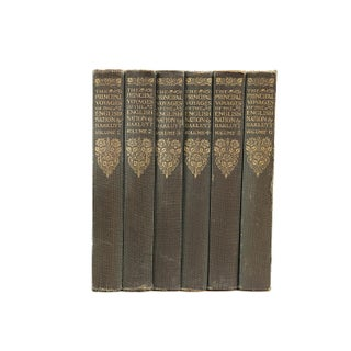 """Voyages of the English"" Pocket Sized Books- Set of 6"