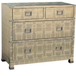 Pulaski Cairo Metallic Crocodile Dresser