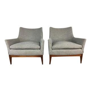 Danish Lounge Chairs - A Pair