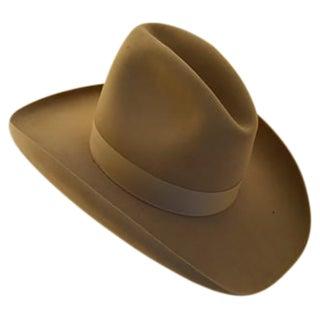 "Vintage ""Ten Gallon"" Cowboy Hat"