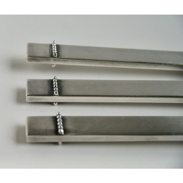 Mid-Century Silver Plate Carving Set - Image 6 of 9
