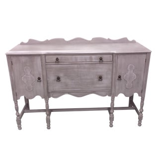 French Dove Gray Buffet