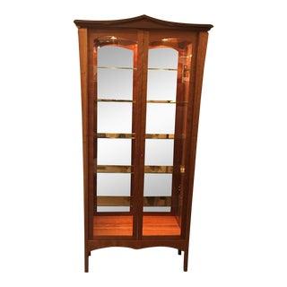 Janos Hortabagyi Wood & Glass Display Cabinet