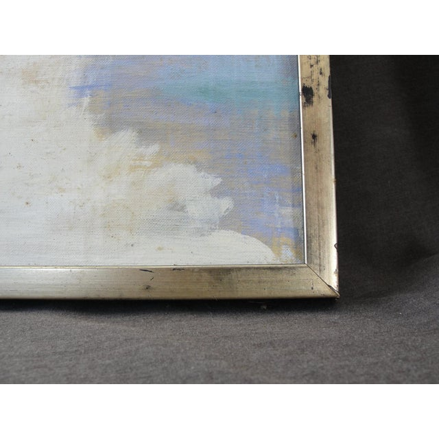 Image of Vintage Oil on Canvas Painting