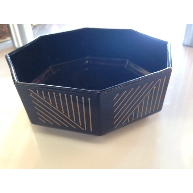 French Deco Geometric Bowls - Set of 5 - Image 5 of 5