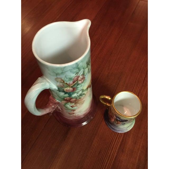 2 Piece Antique Rosenthal Bavaria Porcelain Set - Image 7 of 8
