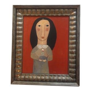 "Rose Walton ""Sassy Whale"" Painting"