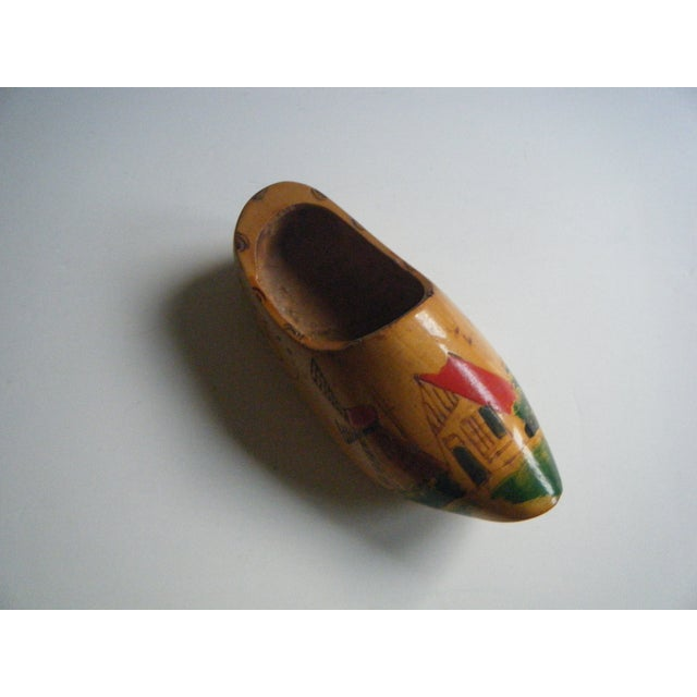 Image of Vintage Hand-Painted Dutch Shoe Clog