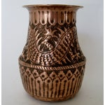 Image of Hammered Copper Vase