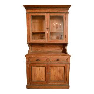 Antique Irish Pine Cabinet