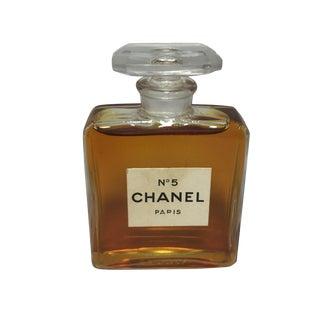 Vintage Chanel No 5 Paris Perfume Bottle