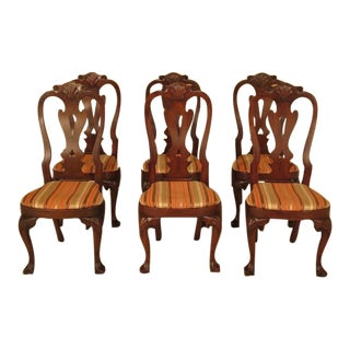 Kittinger Colonial Williamsburg Cw-146 Mahogany Dining Chairs - Set of 6
