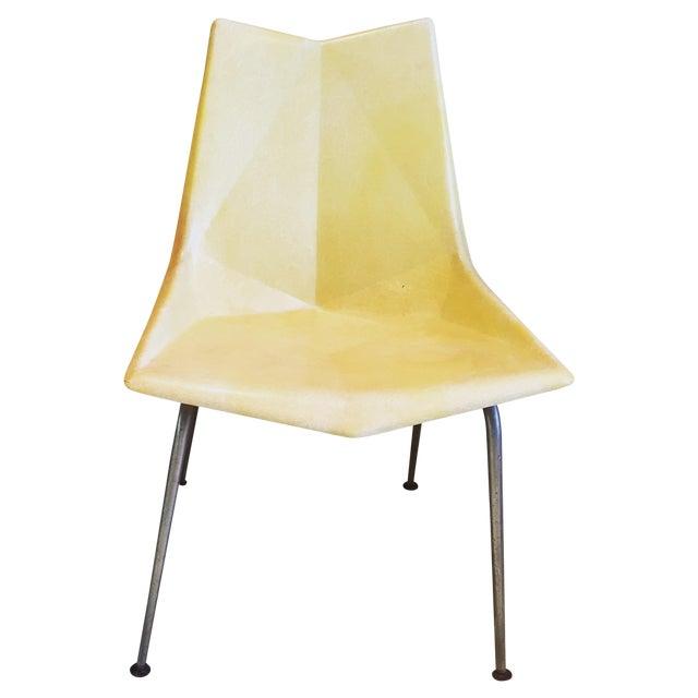 Paul McCobb Origami Fiberglass Chair - Image 1 of 9