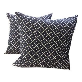 Schumacher Bon Studios Pillows - a Pair