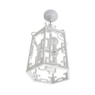 Greek Key Light Pendant