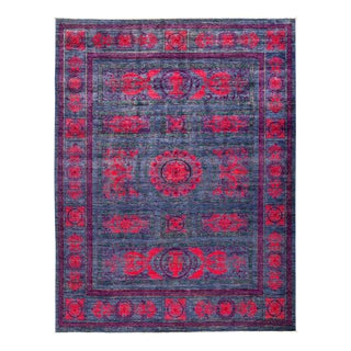 New Hand Knotted Area Rug - 9' x 11'8""