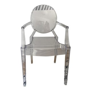 """Philippe Starck for Kartell """"Louis Ghost Chair"""""""