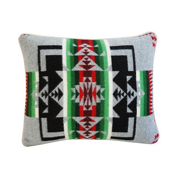 Custom Chief Joseph Pendleton Blanket Pillow - Image 5 of 5