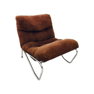Mid-Century Tubular Chrome Chair