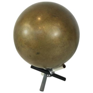 19th Century Bronze Cannon Ball