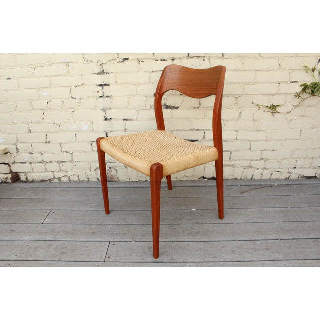 Moller Model 71 Teak Dining Chairs - Set of 6 - Image 3 of 11