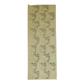 "Vintage Turkish Floral Runner - 2'7"" X 7'8"""