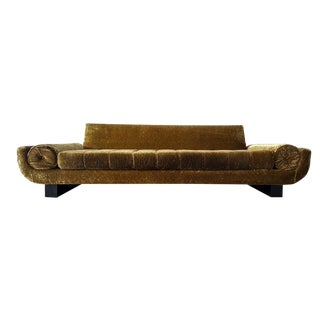 Mid Century Sleigh Leg Gondola Sofa