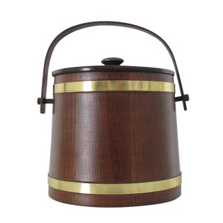 Wooden Barrel Ice Bucket