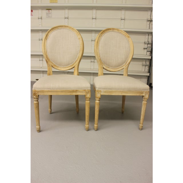 Louis XVI Ballard Design Chairs - Pair - Image 5 of 5