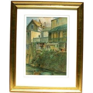 Henry Webster Old Lynmouth Devon Painting