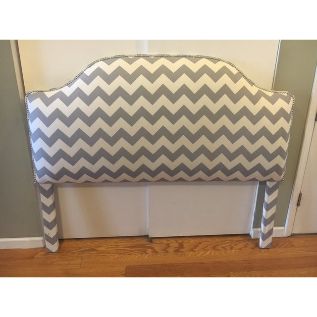 Queen Size Upholstered Headboard - Image 2 of 6