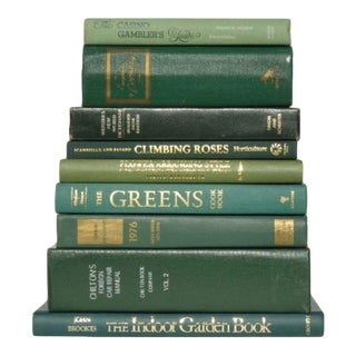 Vintage Green Book Collection - S/9