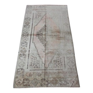 Oushak Medallion Design Rug - 4′4″ × 8′3″