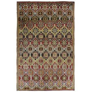 """Vintage Turkish Kilim Flatweave - 6'1 x 9'8"""""""