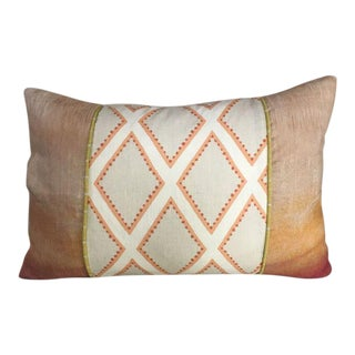 Kim Salmela Coral Patchwork Pillow