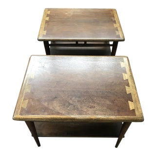 Lane Acclaim Side Tables - A Pair