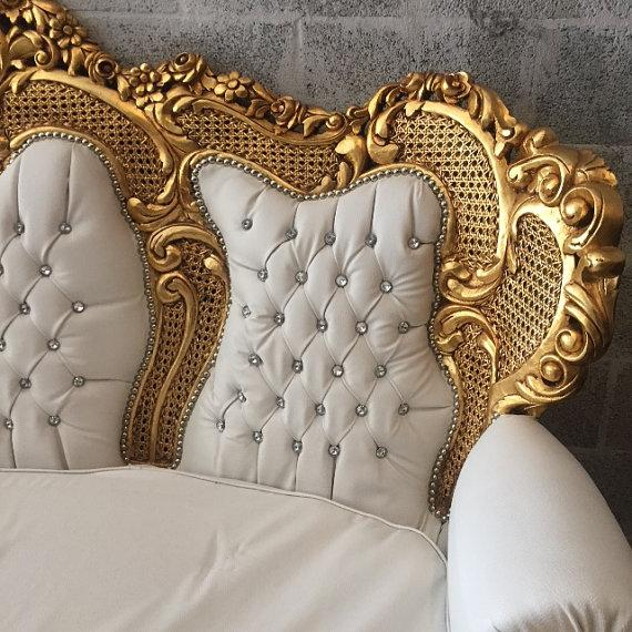 Baroque 3 Seater Sofa - Image 4 of 5