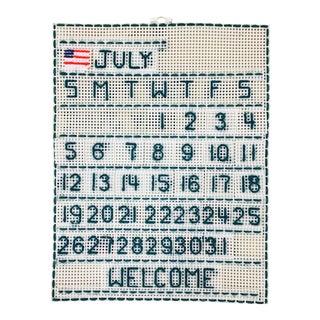 Handmade 'July' Wall Calendar
