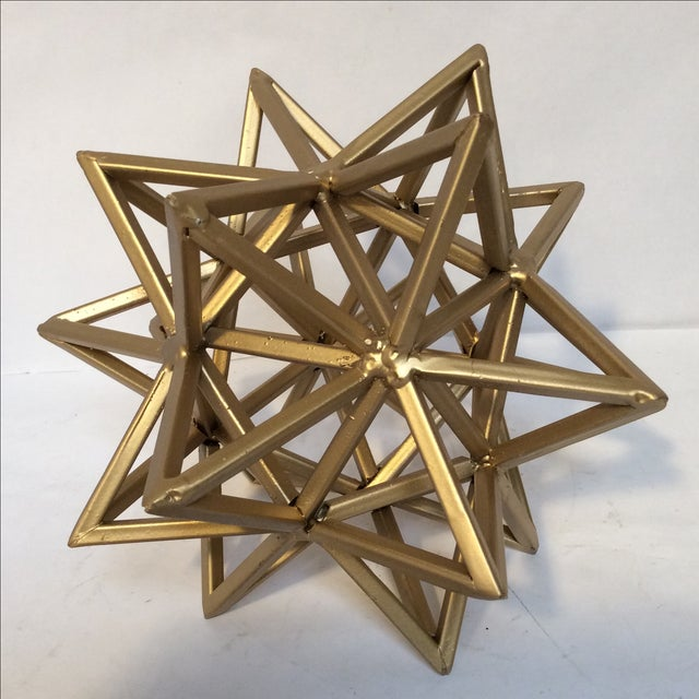 Geometric Gold Star - Image 2 of 7