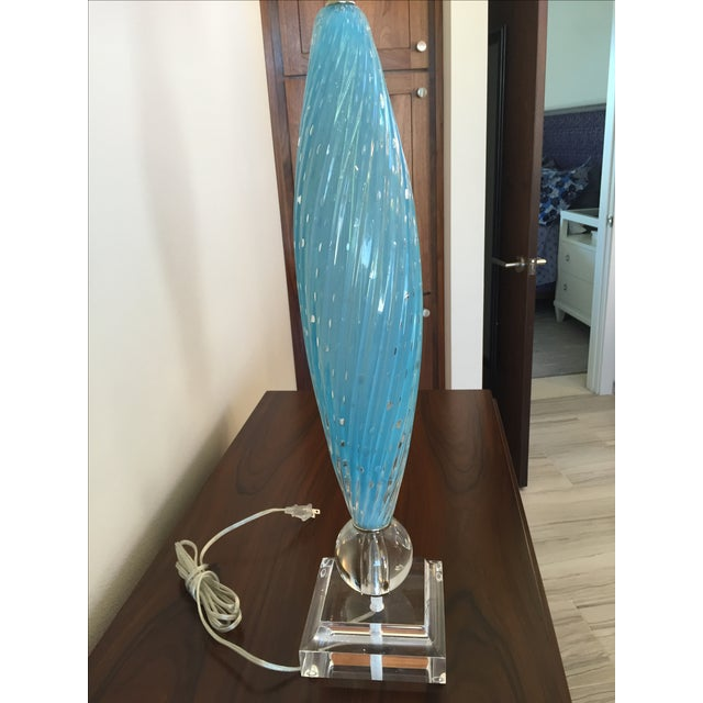 Murano Glass Table Lamps - Image 6 of 10