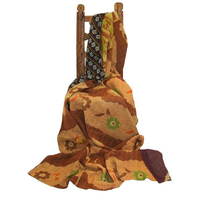 Vintage Kantha Quilt - Image 2 of 2