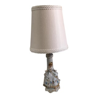 Porcelain Victorian Lady Lamp