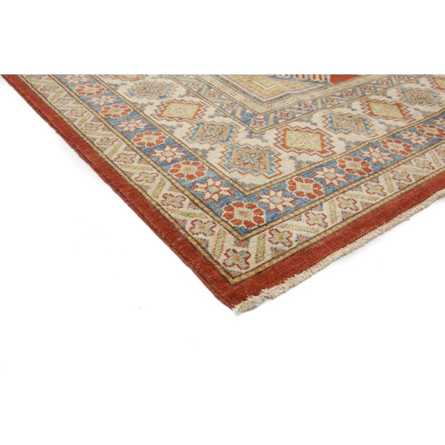 Image of New Kazak Hand Knotted Area Rug - 11' x 15'