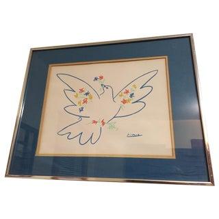 Pablo Picasso Vintage Bird Lithograph Print