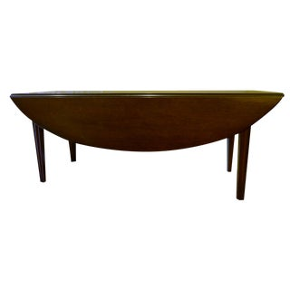 Kittinger English Oval Drop-Leaf Coffee Table